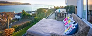 Dreamcatchers luxury holiday home balcony