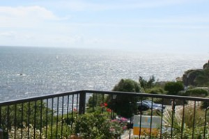 Sunseekers Luxury Self Catering in Cornwall with sea views from the balcony
