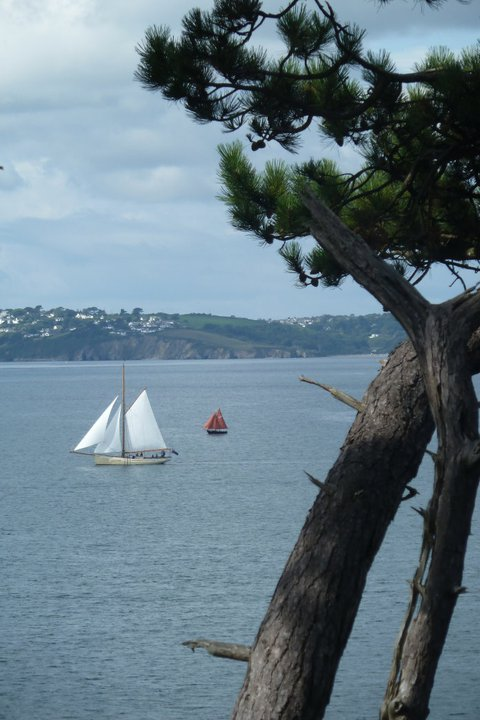 view from St Mawes Retreats