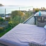 Dreamcatchers luxury holiday home balcony