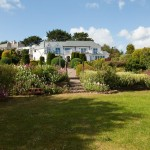 Moonraker Luxury Holiday House garden view
