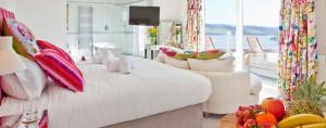 Moonraker Luxury Holiday House bedroom