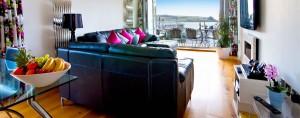 Shellseekers Luxury Holiday House living area