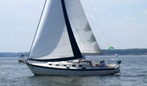 Sailing at St Mawes