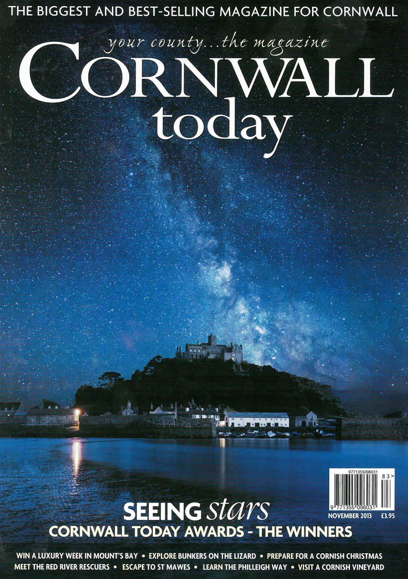 Cornwall Today Nov 13 - St Mawes Retreats