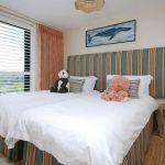 Sea View twin bedroom