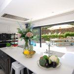 sea view kitchen