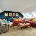 sea view loft room